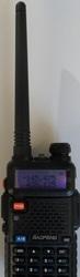 рация Baofeng UV-5R двух диапазонная 136-174 и 400-520 мгц нoвая